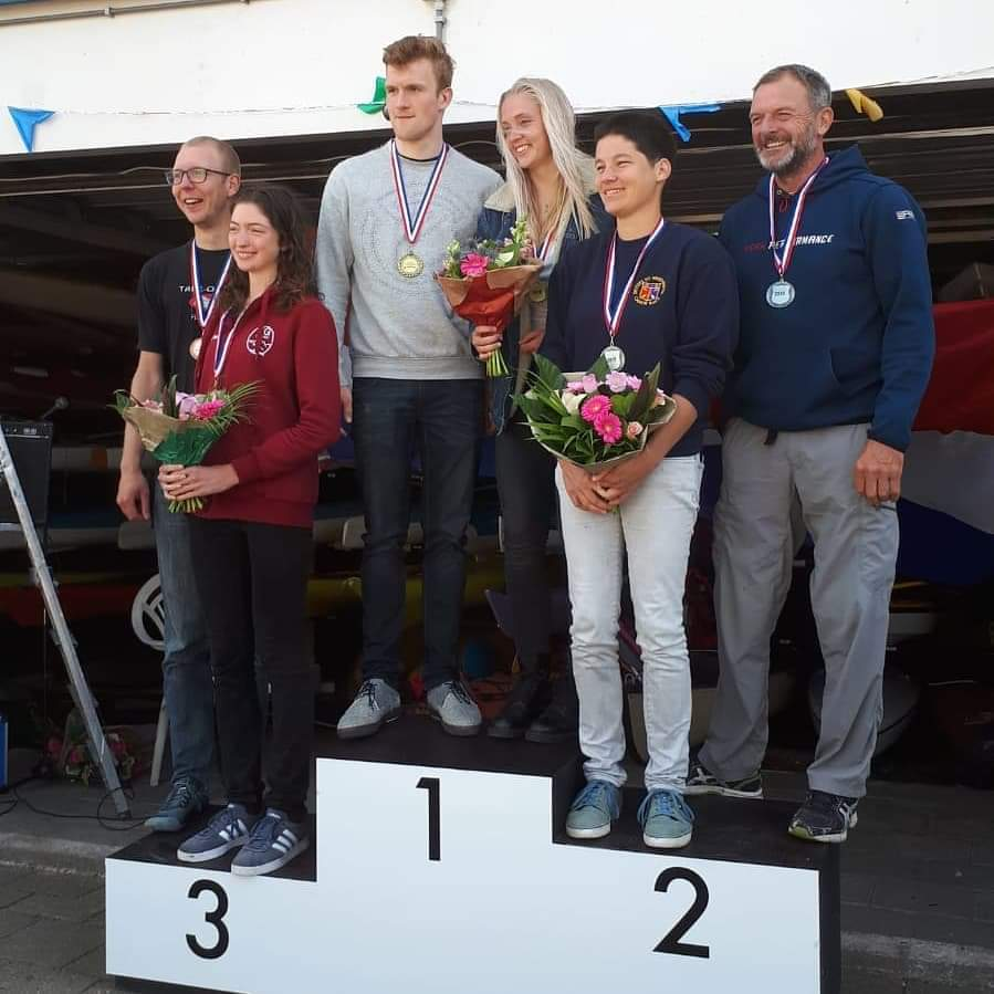 2019 Hvaart HK K2mix podium